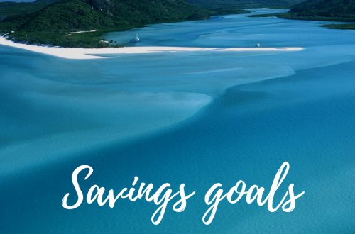 Setting Savings Goals